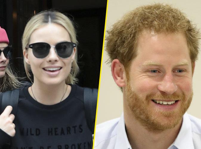 Margot Robbie très proche du Prince Harry...
