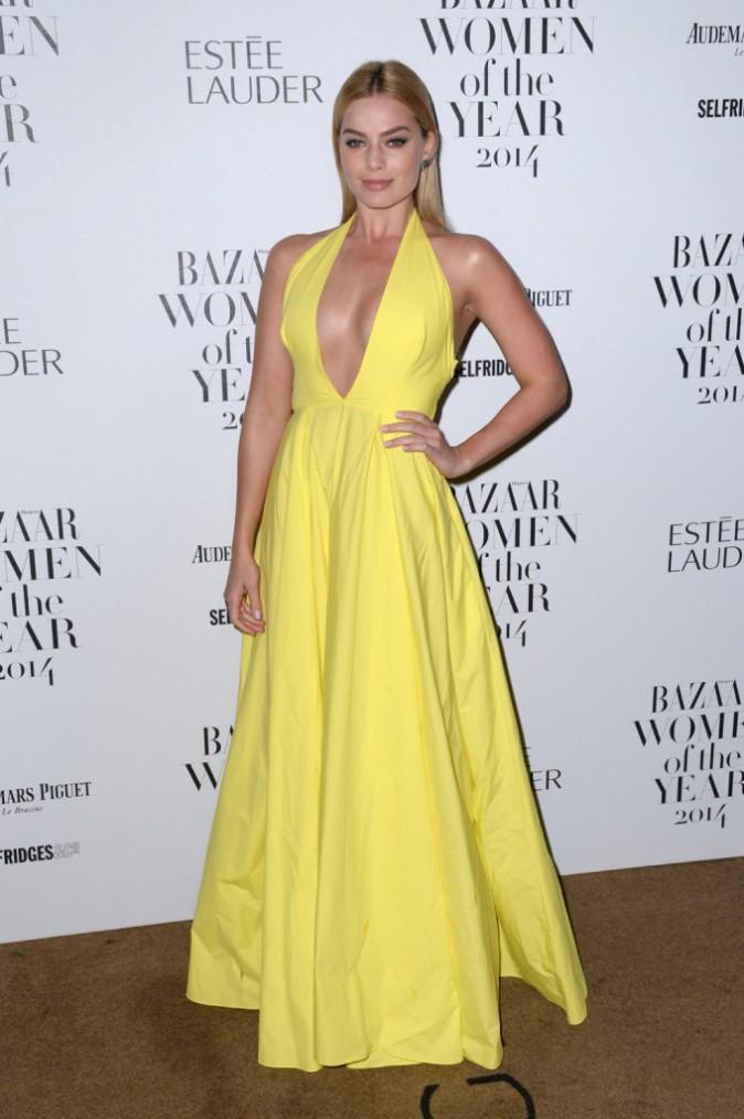 Margot Robbie le 4 novembre 2014