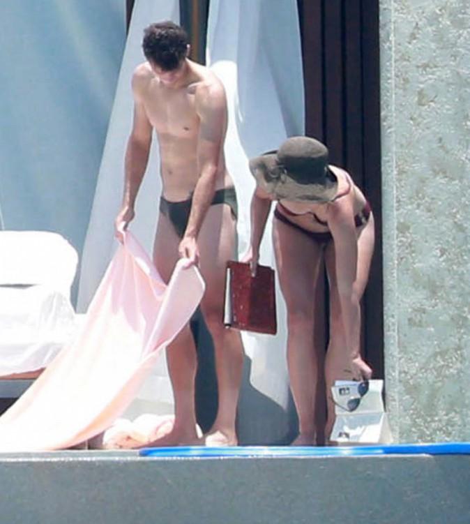Maria Sharapova en vacances au Mexique avec Grigor Dimitrov le 8 juillet 2014