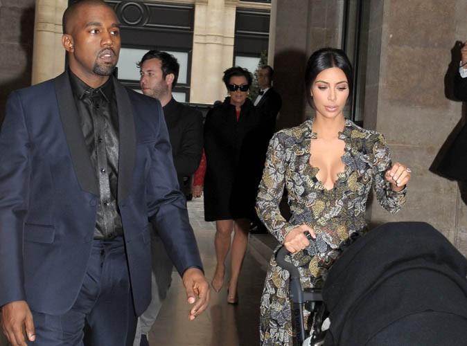Mariage de Kim Kardashian et Kanye West : départ mouvementé de toute la famille au château de Wideville !
