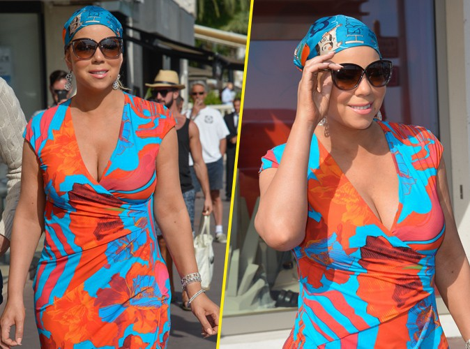 Photos : Mariah Carey : alerte au fashion faux-pas à Cannes !