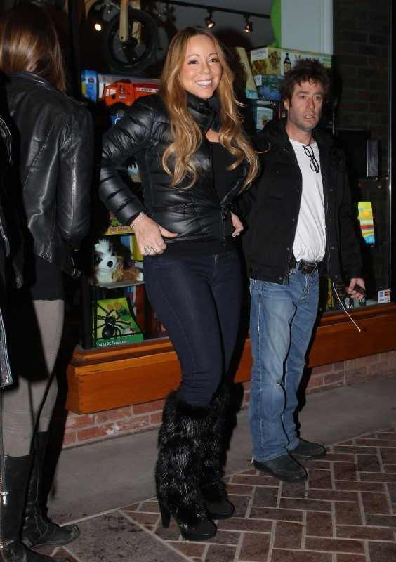 Mariah Carey à Aspen, le 23 décembre 2012.