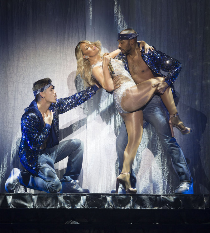 Mariah Carey sur Scene!