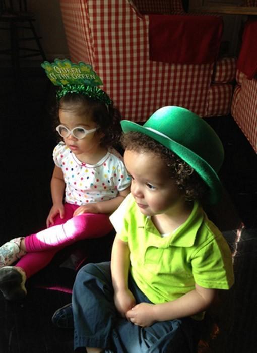 Mariah Carey et Nick Cannon fêtent la St Patrick en famille !