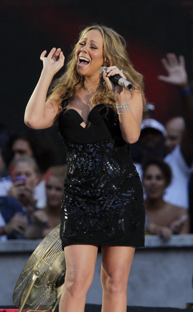 Mariah Carey le 5 septembre 2012 à New York