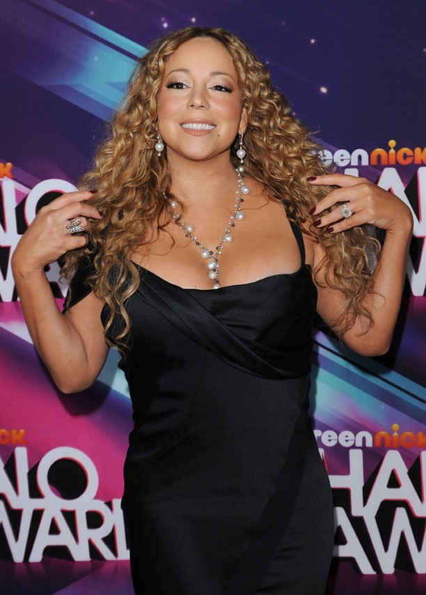 Mariah Carey à la cérémonie des TeenNick Halo Awards 2012 à Los Angeles le 17 novembre 2012