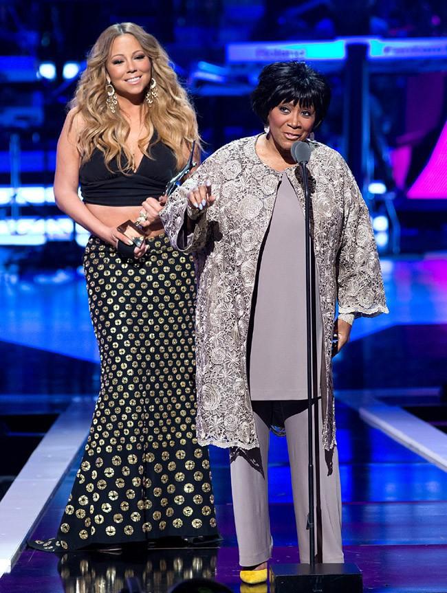 Mariah Carey à la soirée des BET 's Black Girls Rock organisée à New-York le 26 octobre 2013