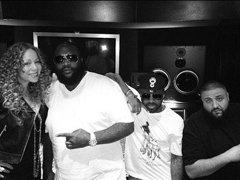 Mariah Carey, Rick Ross, Jermaine Dupri et DJ Khaled
