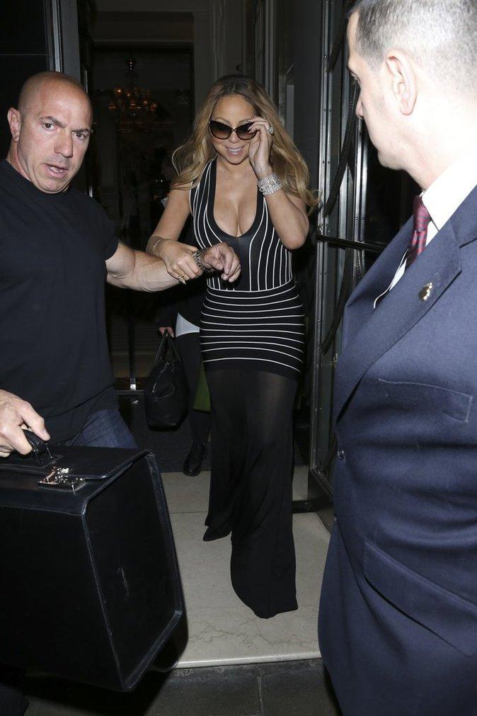 Mariah Carey à Londres le 19 mai 2016