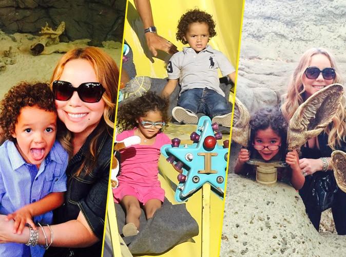 Mariah Carey, Monroe et Moroccan le 6 septembre