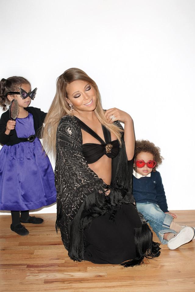 Mariah Carey : plongez dans les coulisses de son shooting super sexy avec Terry Richardson !