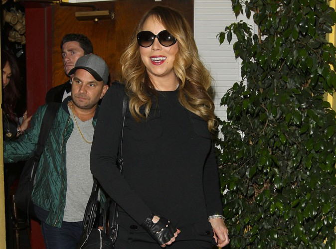 Photos : Mariah Carey : plus sobre, elle la joue sexy face ...