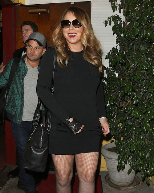 Photos : Mariah Carey : plus sobre, elle la joue sexy face aux accusation de Nick Cannon !