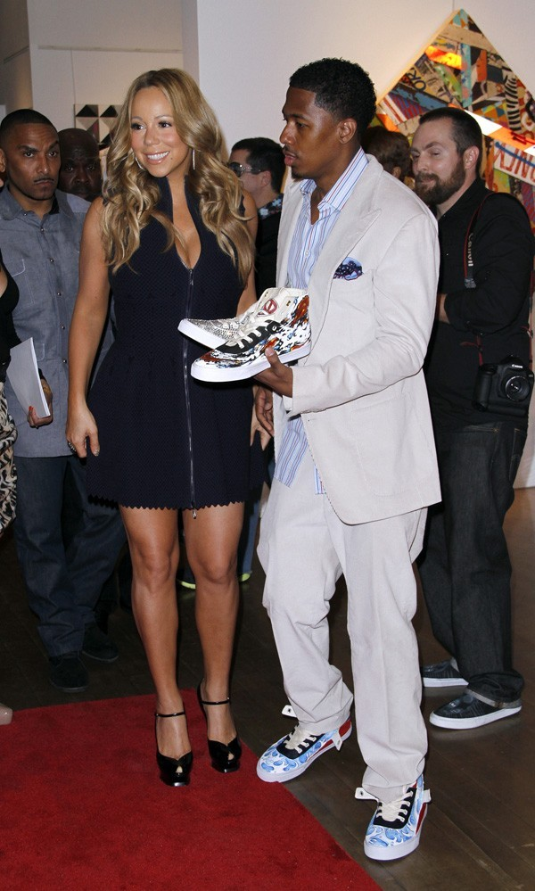 Mariah Carey et Nick Cannon le 11 mai 2012 à New York