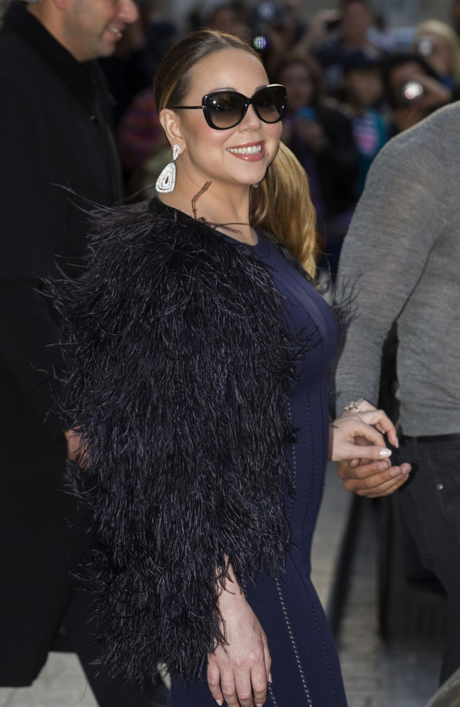"Photos : Mariah Carey : prête à ""Break the Internet"" !"