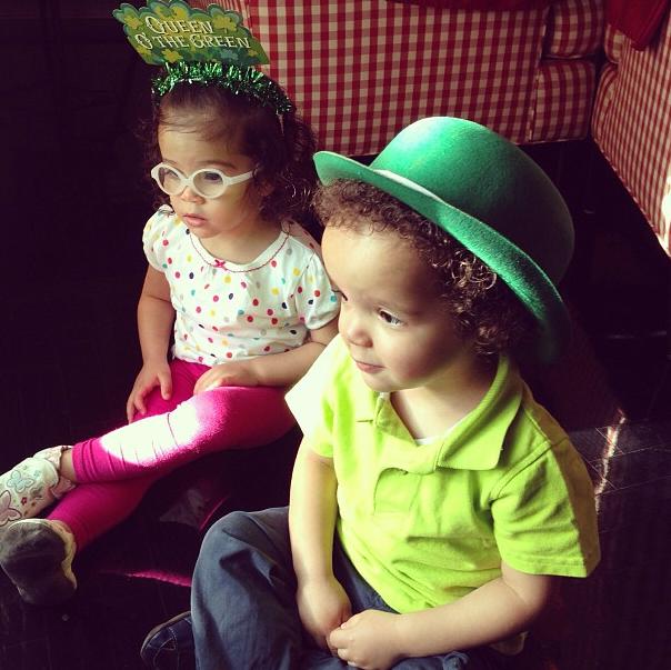Les jumeaux Monroe et Moroccan