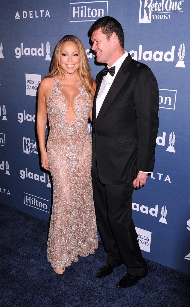 Mariah Carey aux GLAAD Awards à New York ce samedi 14 mai