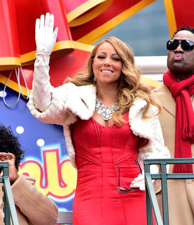 Mariah Carey le 26 novembre 2015