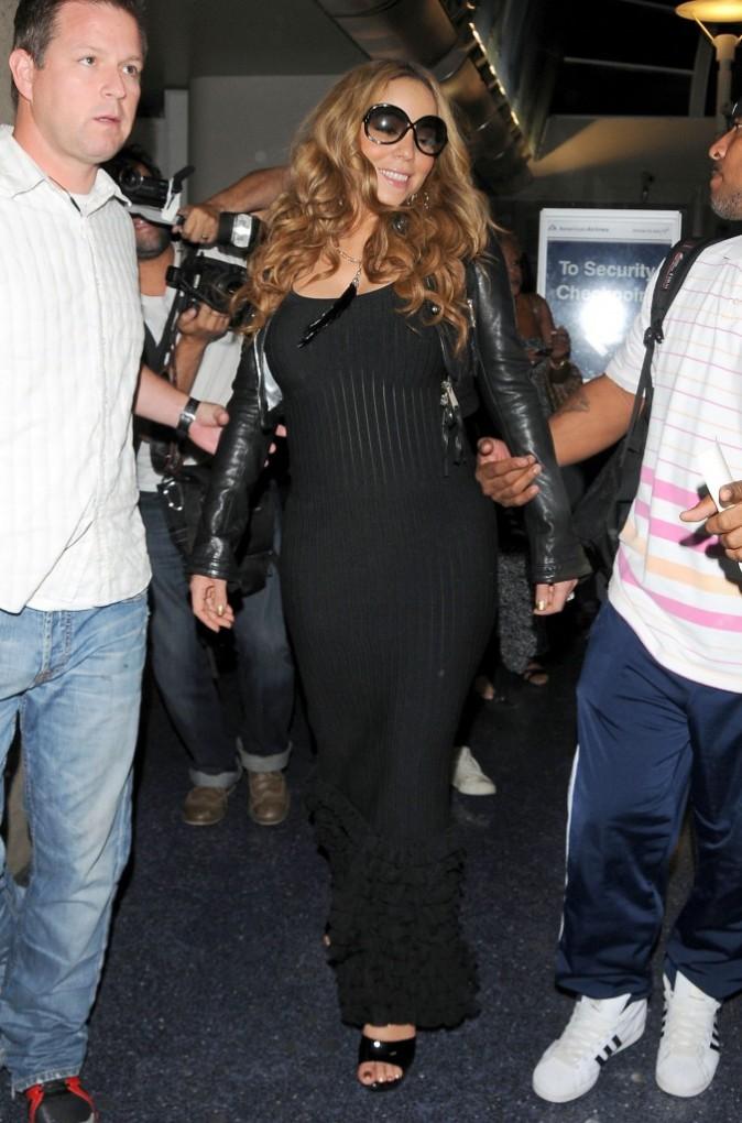 Mariah Carey à l'aéroport de Los Angeles, le 6 septembre 2012.
