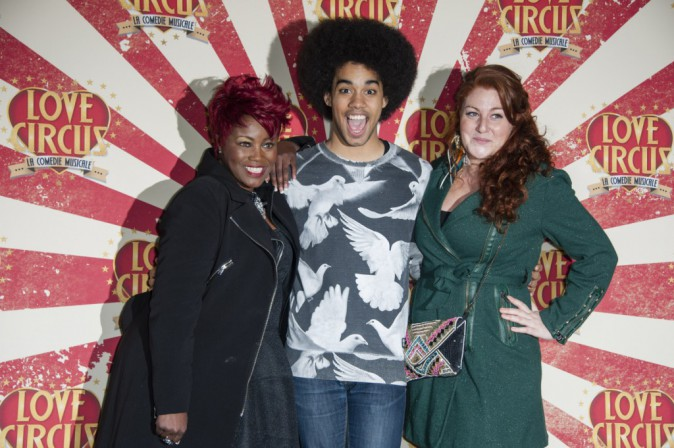 Stacey King, Gwendal Marimoutou et Juliette Moraine