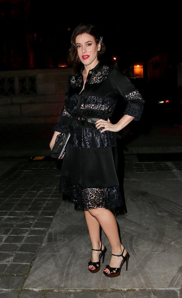 Lisa Eldridge à la soirée Lancôme Sonia Rykiel à Paris