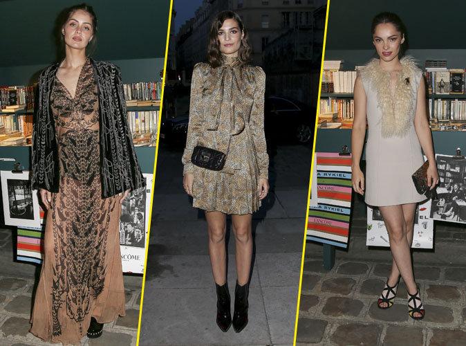 Photos : Marie-Ange Casta, Alma Jodorowsky, et Lola Le Lann : déferlante de bombes glamour à la soirée Sonia Rykiel - Lancôme à Paris !