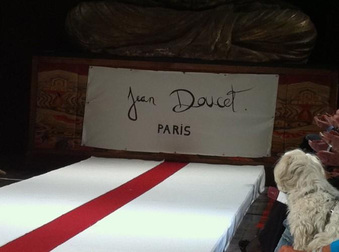 Défilé Jean Doucet à Paris, le 26 janvier 2012.