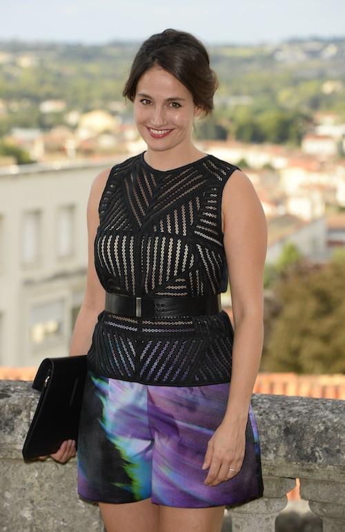 Marie Gillain au Festival du film francophone d'Angoulême, le 25 août 2015