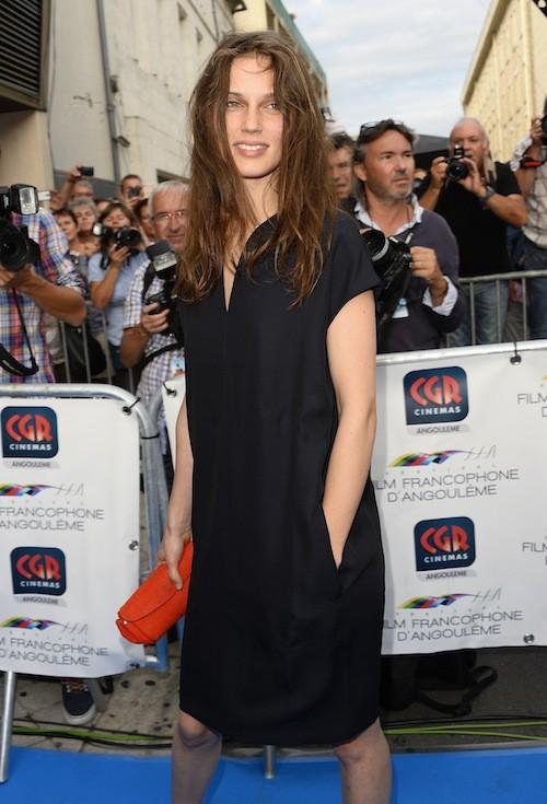 Marina Vacth au Festival du film francophone d'Angoulême, le 25 août 2015