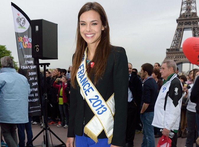 Marine Lorphelin : fière de ressortir son écharpe de Miss France pour la bonne cause !