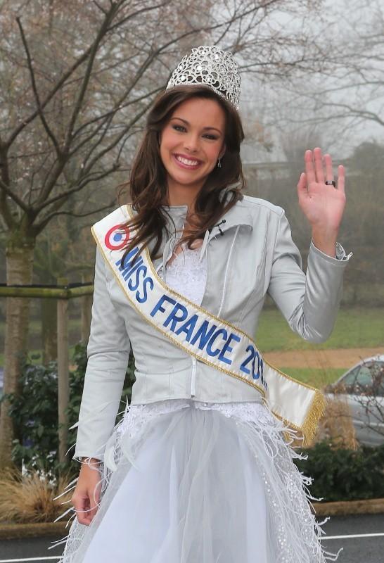 Marine Lorphelin à Charnay-les-Mâcon, le 19 décembre 2012.