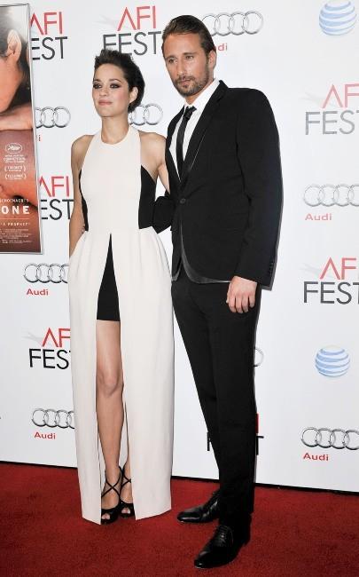 Marion Cotillard et Matthias Schoenaerts le 5 novembre 2012 à Hollywood