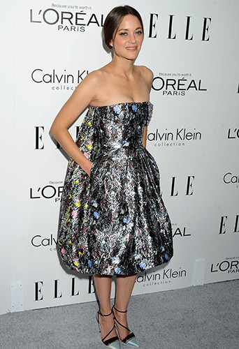 Marion Cotillard à Los Angeles le 21 octobre 2013