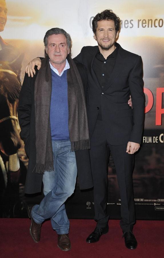 Guillaume Canet à l'avant-première de Jappeloup au Grand Rex de Paris le 26 février 2013