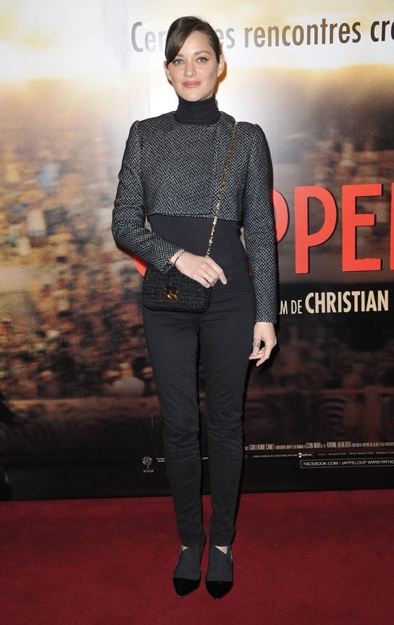 Marion Cotillard à l'avant-première de Jappeloup au Grand Rex de Paris le 26 février 2013