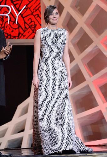 Marion Cotillard à Marrakech le 29 novembre 2013