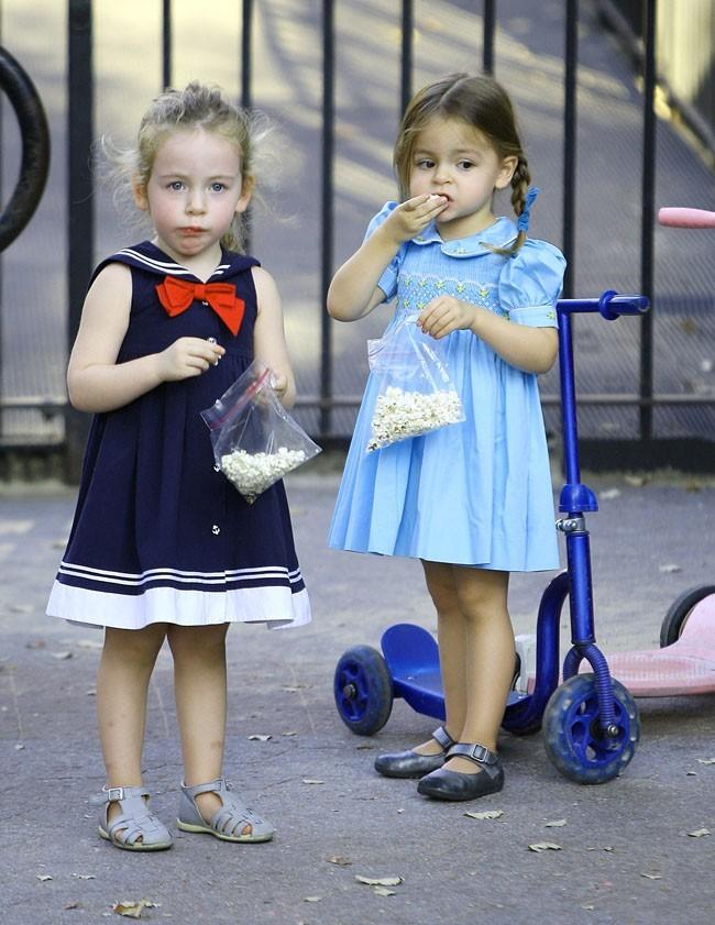 Tabitha et Marion Broderick le 7 octobre 2012 à New York