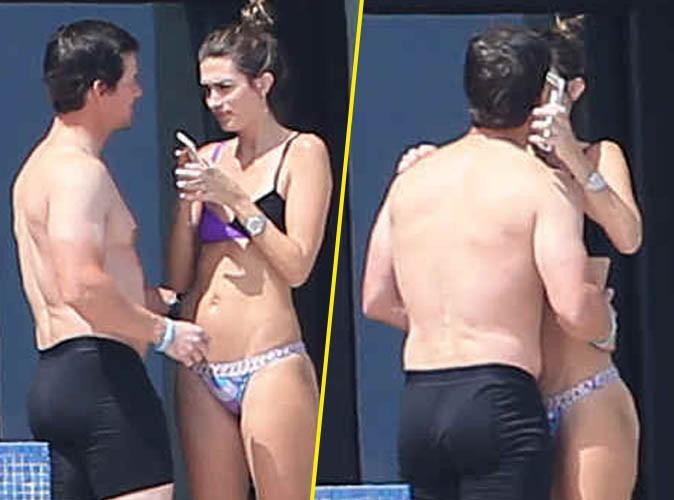 Mark Wahlberg : le petit bikini de sa femme lui fait de l'effet !