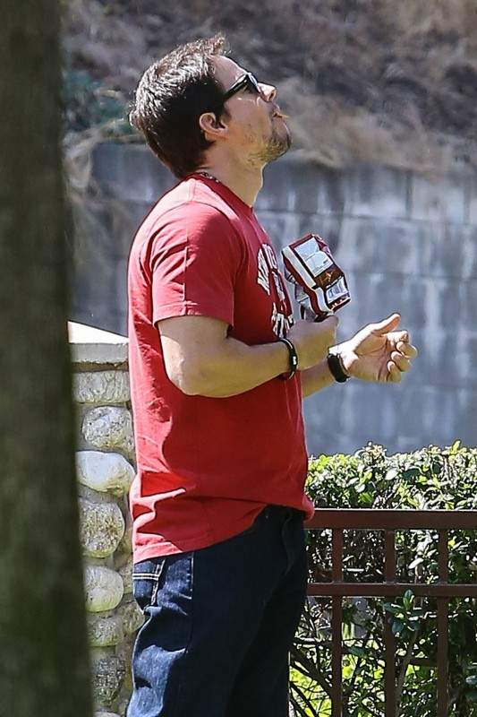 Mark Walhlbergn, Beverly Hills, 26 avril 2013.