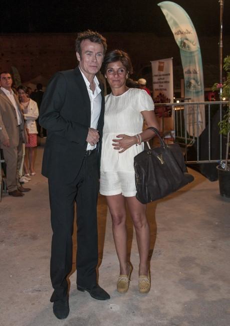 Florence Foresti et Franck Dubosc
