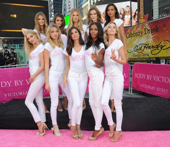 Les nouveaux Anges de Victoria's Secret le 28 juillet 2015
