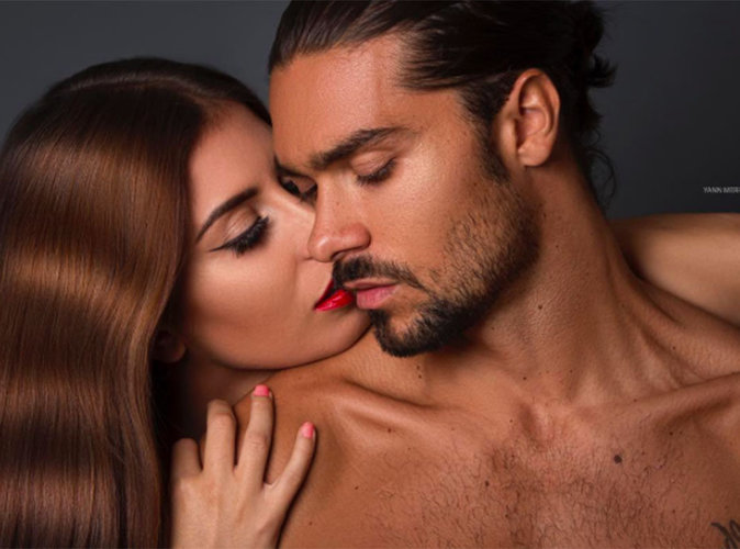 Photos : Martika Caringella et Julien Guirado : Les deux amoureux posent en petite tenue !