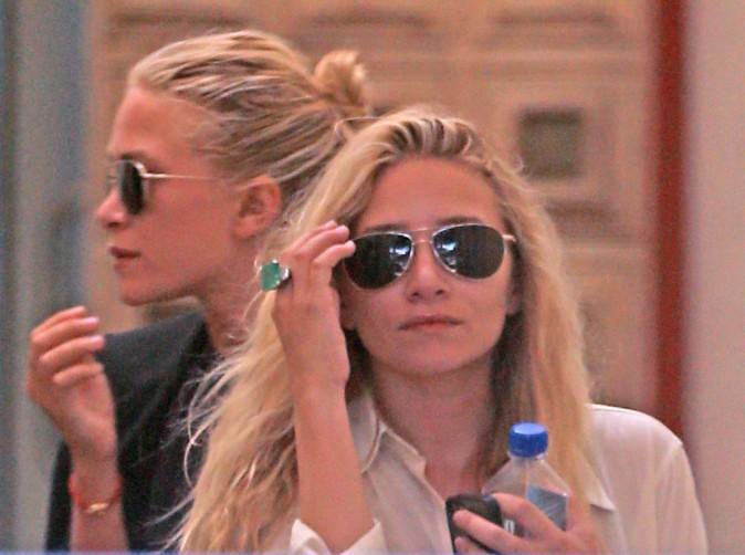 Mary-Kate et Ashley Olsen à West Hollywood, le 21 août 2013.