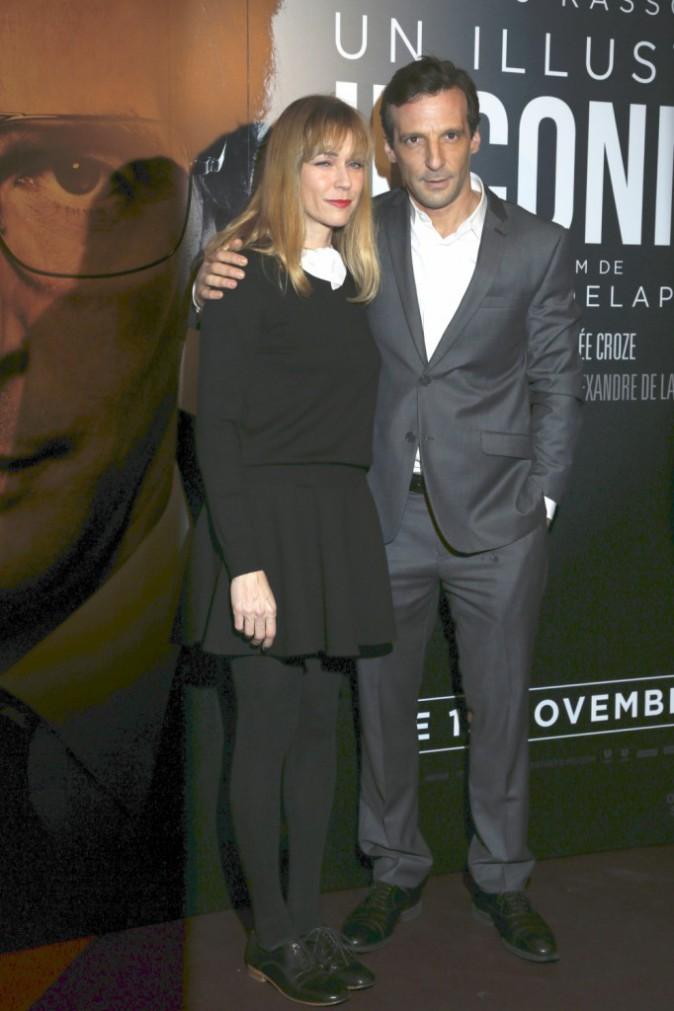 Mathieu Kassovitz et Marie-Josée Croze à Paris le 17 novembre 2014