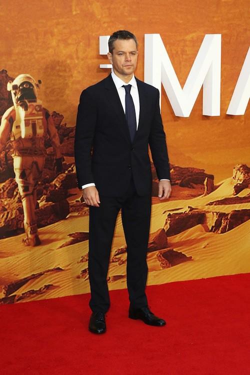 Photos : Matt Damon et Jessica Chastain, une complicité débordante à Londres !