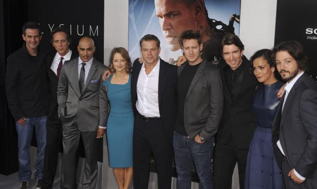Casting du film Elysium à Westwood, le 7 août 2013.
