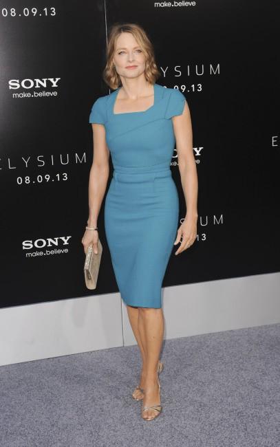 Jodie Foster lors de la première du film Elysium à Westwood, le 7 août 2013.