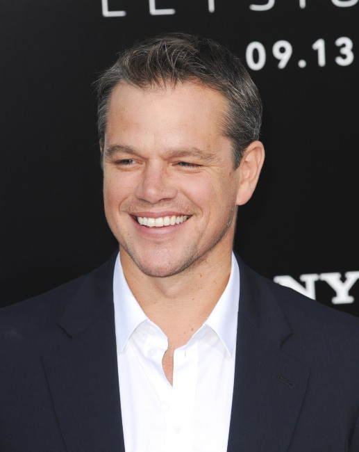 Matt Damon lors de la première du film Elysium à Westwood, le 7 août 2013.