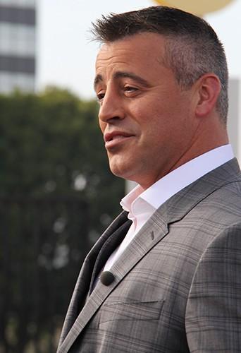 Matt Le Blanc à Los Angeles le 9 janvier 2014