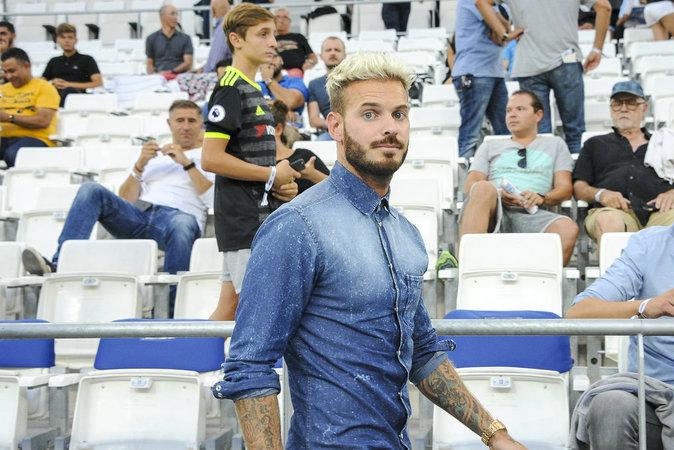 Matt Pokora au stade Vélodrome à Marseille ce dimanche 14 août 2016